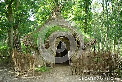Africa Mud Hut.