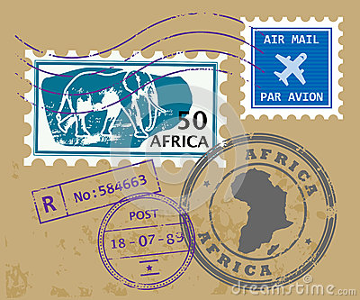 Africa post stamps