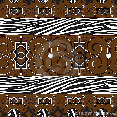 Africa stile ornament background