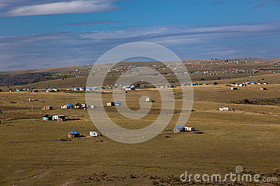 Africa Transkei Landscapes Homes Editorial Photo