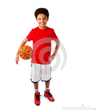Free African American Basketball Player Royalty Free Stock Image - 37768206