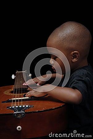 African American Boy Play Guitar Royalty Free Stock ... | 301 x 450 jpeg 25kB