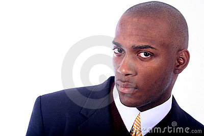 African American Business Man Stock Photography - Image: 814882