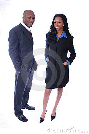 Free African American Business People Stock Image - 814821
