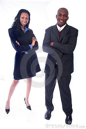 Free African American Business People Stock Photos - 814873