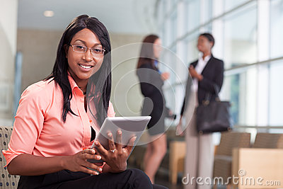 African-american business woman