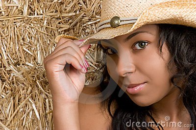 African American Cowgirl