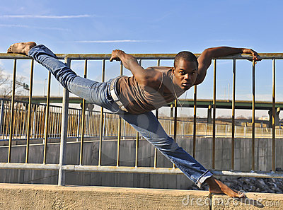 African American dancer.