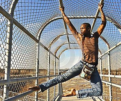 African American dancer / model in Richmond, VA.