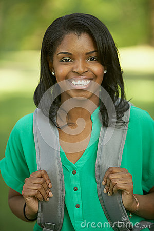 African American female student