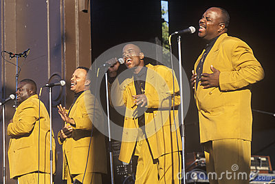 African-American gospel Editorial Stock Image