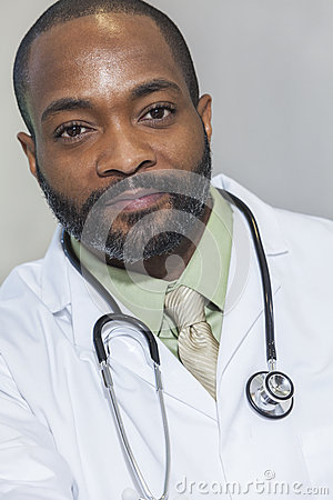 African American Man Male Doctor