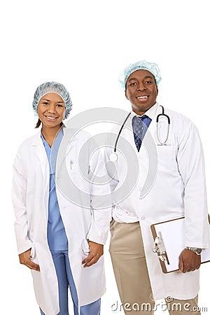 African American Medical Team