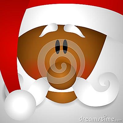 African American Santa Claus Clip Art Stock Photography ...