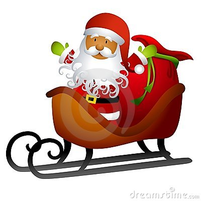 African American Santa Claus Clip Art Stock Photos, Images ...