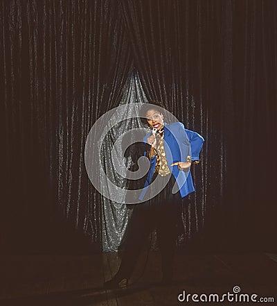 African American singer comedian entertainer