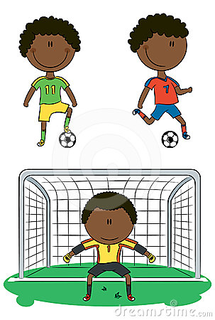 African-American soccer players