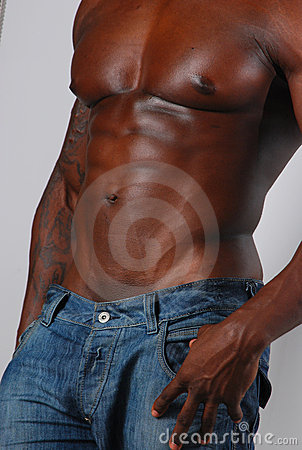 Free African American Torso Royalty Free Stock Photography - 6748647