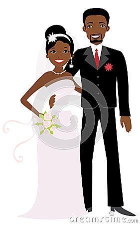 African American wedding