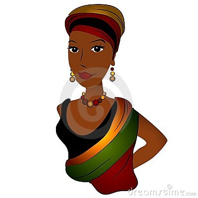 African American Woman Fashion