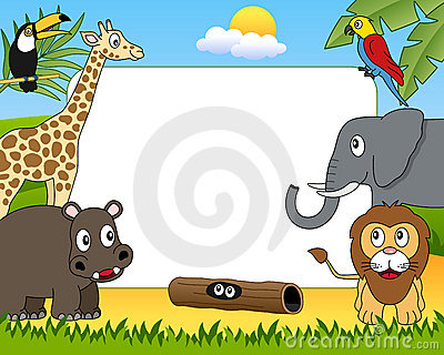 African Animals Photo Frame [1]