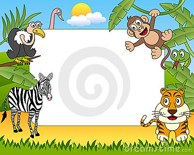 African Animals Photo Frame [2]