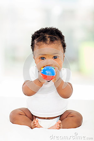 African baby toy