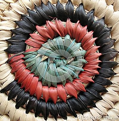 Free African Basket Design 2 Royalty Free Stock Photos - 2523378