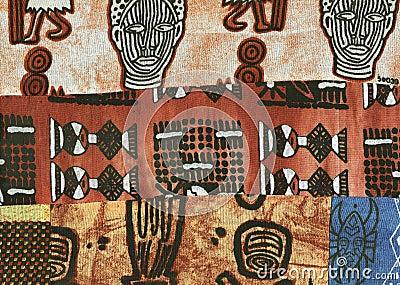African batik.