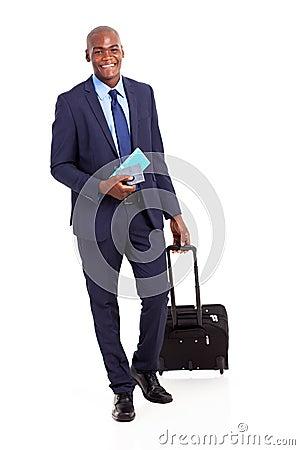 African business traveler