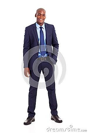African businessman suit