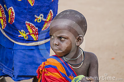 African child Editorial Photo
