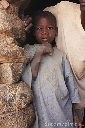 African child Editorial Image