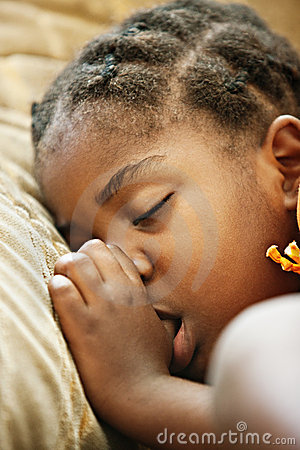 Free African Child Sleeping Stock Images - 8840514