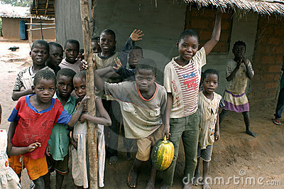African children Editorial Image