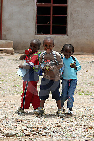 African Children Editorial Stock Image