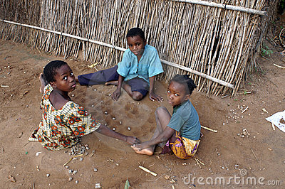 African children Editorial Stock Photo