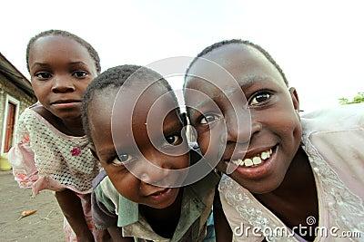 African children Editorial Image