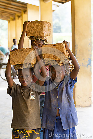 Free African Children Stock Images - 54333974
