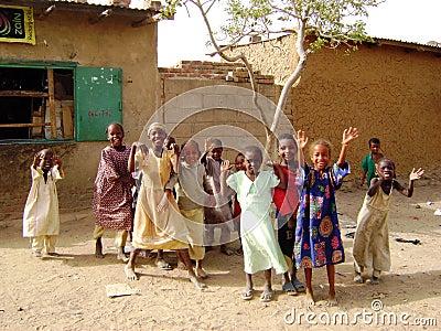 African children - Ghana Editorial Stock Image