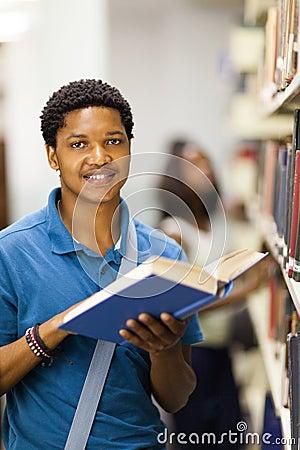 African college boy