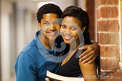 African college couple