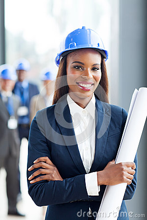 African construction manager