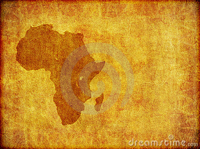 African Continent Grunge Background Graphic Royalty Free Stock Photo - Image: 15628905