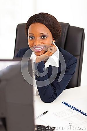 African corporate worker