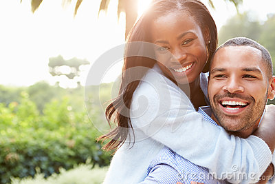 African Couple In Outdoor Portrait Free Public Domain Cc0 Image