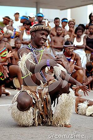 African dancer Editorial Image