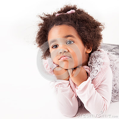 Free African Descent Child Royalty Free Stock Photos - 35459418