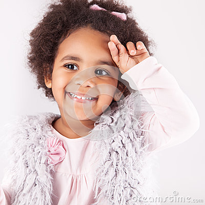 Free African Descent Child Royalty Free Stock Photos - 35459448