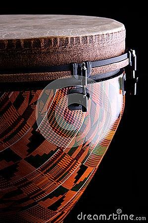 African Djembe Drum Black Bk